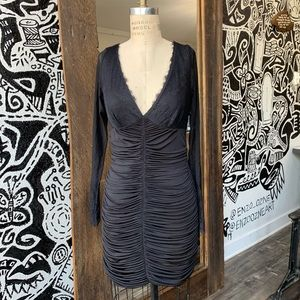 Marciano Draped dress Size L